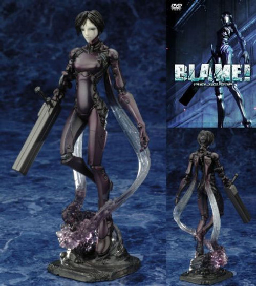 Blame!: Non Scale Figure With DVD - Sana Kan