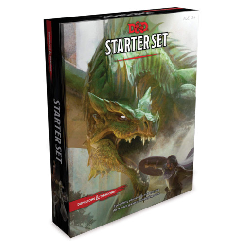 Wizards of the Coast: Dungeons & Dragons - Dungeons & Dragons Starter Set