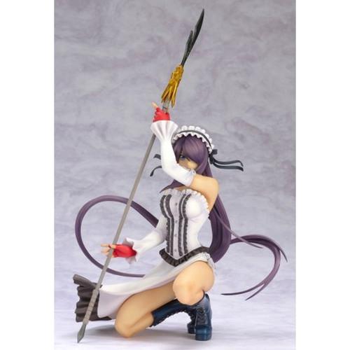 Ikki Tousen: Kanu Gothic Lolita Dress White Ver. 1/7 Scale PVC Figure (Figures)