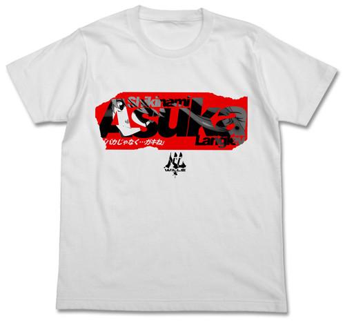 Neon Genesis Evangelion: T-Shirt - Asuka Box Logo White (X-Large)