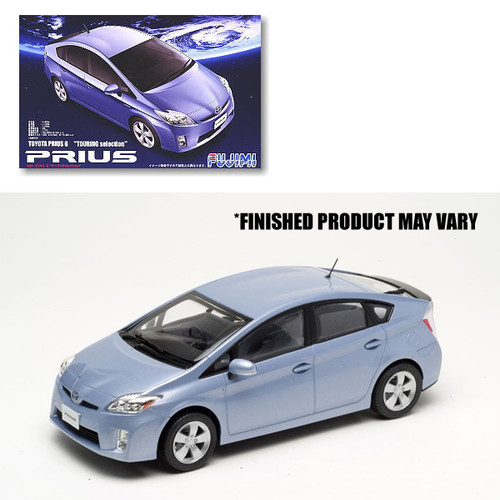 Inch-Up Series: 1/24 Plastic Car Model Kit - ID-151 Toyota Prius G Touring Selection