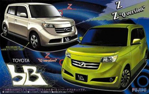 Inch-Up Series: 1/24 Plastic Car Model Kit - Toyota bB Z/Z