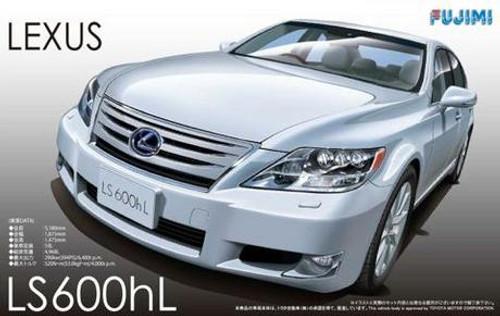Inch-Up Series: 1/24 Plastic Car Model Kit - Lexus LS600hL