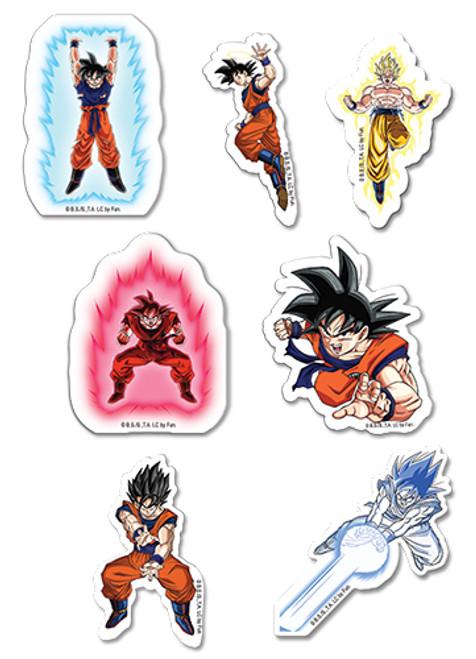Dragon Ball Z : Stickers - Goku Puffy Set
