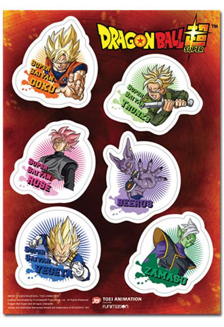 Dragon Ball Super : Sticker - Future Trunks Saga Set