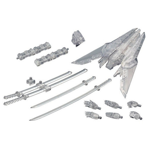 Modeling Support Goods: Model Kit - Weapon Unit Assorted 02 Sharp Weapons Clear Ver.