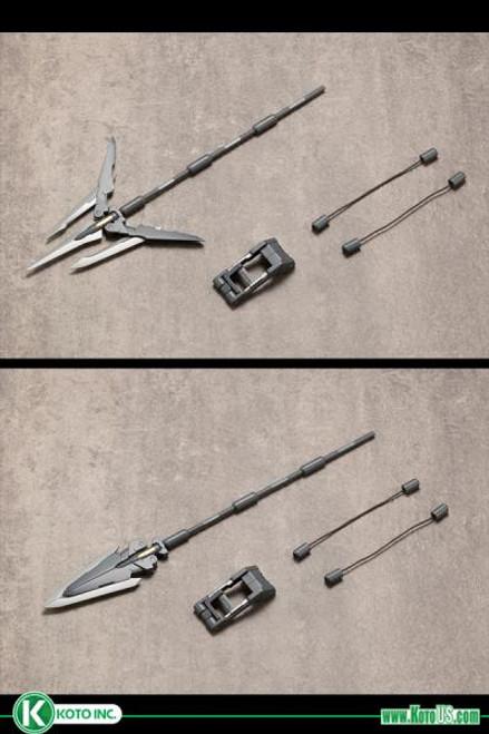 Kotobukiya: Modeling Support Goods - Heavy Weapon Unit 11 Trident Spear M.S.G