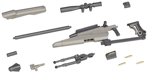 Modeling Support Goods: Model Kit - Weapon Unit 09 New Sniper Rifle