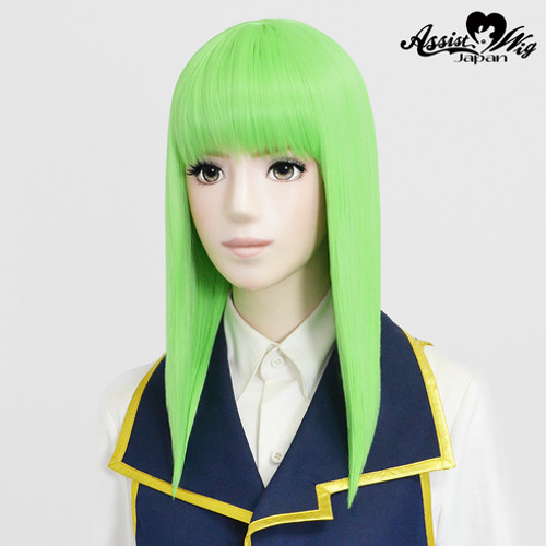 Assist: Pure Medium Wig - Light Green 14 (Basic) (012302)