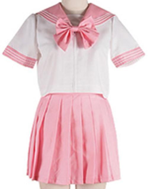 Christine: Costume - Sailor Uniform (Dark Pink) (X-Large)