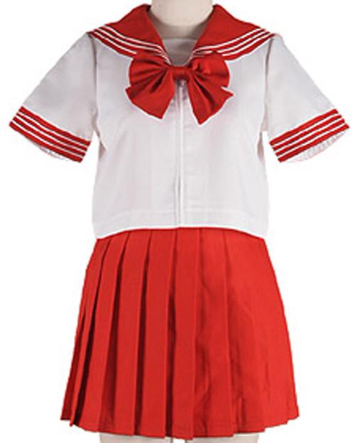 Christine: Costume - Sailor Uniform (Red) (Large)
