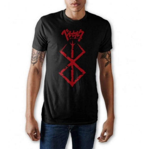 Berserk: T-Shirt - Brand of Sacrifice Tee (Black) (Small)