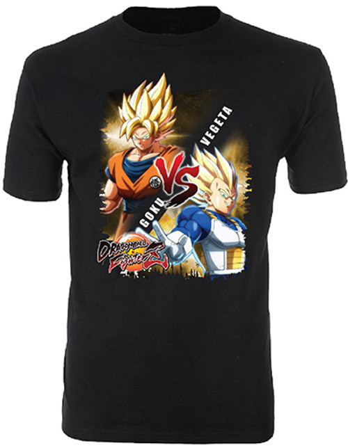 Dragonball Fighter Z : T-Shirt - Goku vs Vegeta (Small)