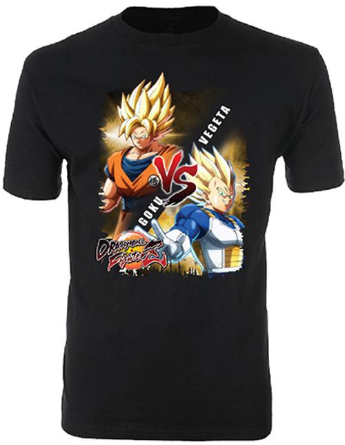 Dragonball Fighter Z : T-Shirt - Goku vs Vegeta (X-Large)