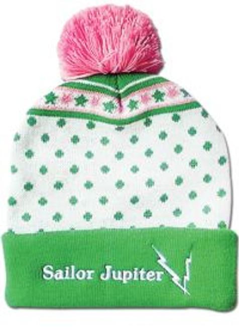 Sailor Moon : Beanie - Sailor Jupiter Pom