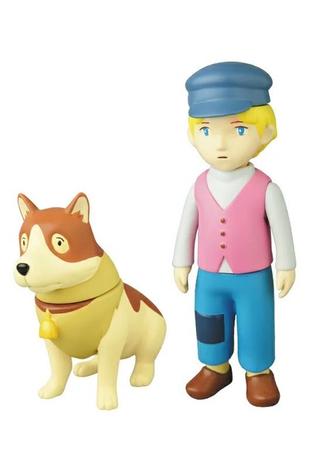 Dog of Flanders: Soft Vinyle Figure - Nello and Patrasche