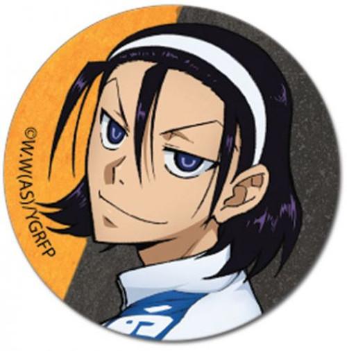 Yowamushi Pedal: Button - Toudou 1.25'' (Grande Road)