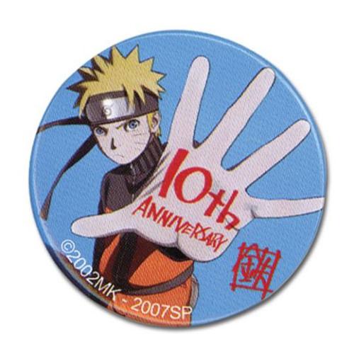 Naruto Shippuden: Button - 10th Anniversary 1.25''