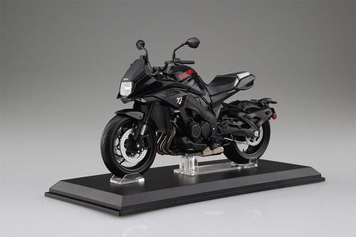 Diecast Motorcycle:1/12 Scale Complete Model - Suzuki GSX-S1000S Katana Glass Sparkle Black