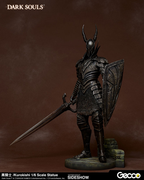 Dark Souls: 1/6 Scale Figure Kurokishi Black Knight