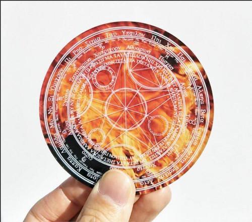 (C)Takumi Armory: Coaster - Magic Circle (Fire)