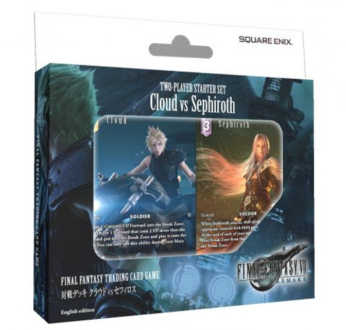 Square Enix: Final Fantasy Trading Card Game - Two Player Starter Deck - CLOUD VS SEPHIROTH