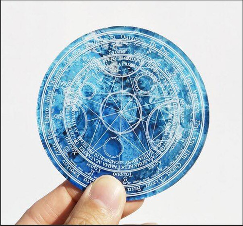 (C)Takumi Armory: Coaster - Magic Circle (Water)