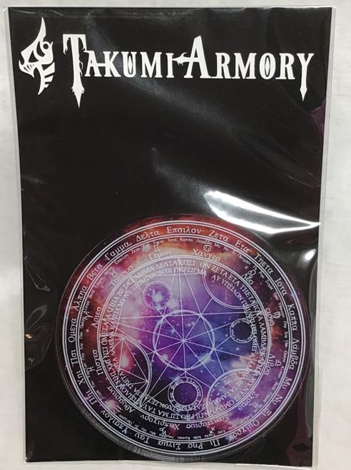 (C)Takumi Armory: Coaster - Magic Circle (Galaxy)
