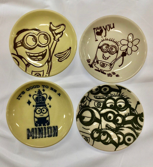 Minions: Mini Plate - Ichiban Kuji Fun Life 4pc Set (105002600)