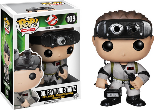 Ghostbusters: POP Figure - Dr. Raymond Stantz