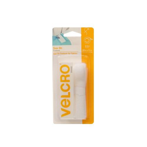 Velcro: White - 3/4 x 30