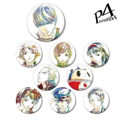 Persona 4: Button - Ani-Art Trading Can Badge