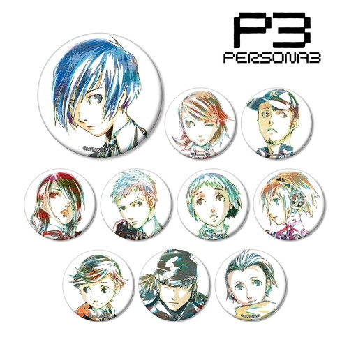 Persona 3: Button - Ani-Art Trading Can Badge