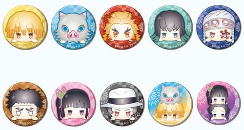 Demon Slayer: Button - Can Badge Odango Series B Box