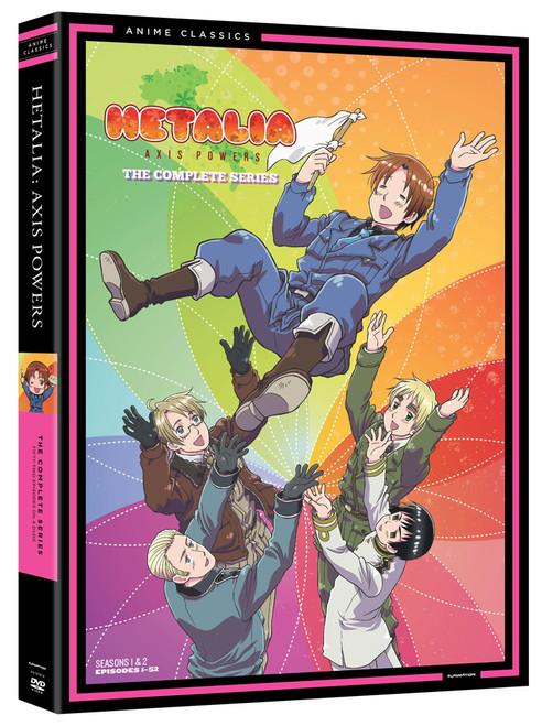 Hetalia: Complete Series Anime Classic (DVD) (105002898)