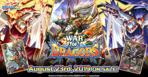 Future Card Buddyfight: Booster Box - ACE Vol. 5 - War of Dragods