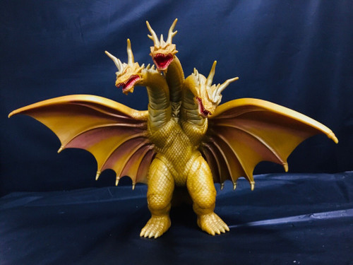 Godzilla: Big Size Soft Vinyl Figure - King Ghidora 1998 (105003057)