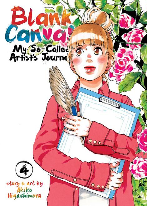 Blank Canvas: My So-Called Artist's Journey Vol. 4 (Manga)