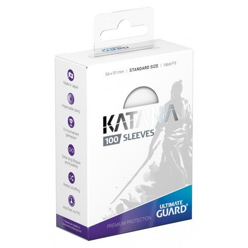 Ultimate Guard: Card Sleeves - Katana - Standard - Clear