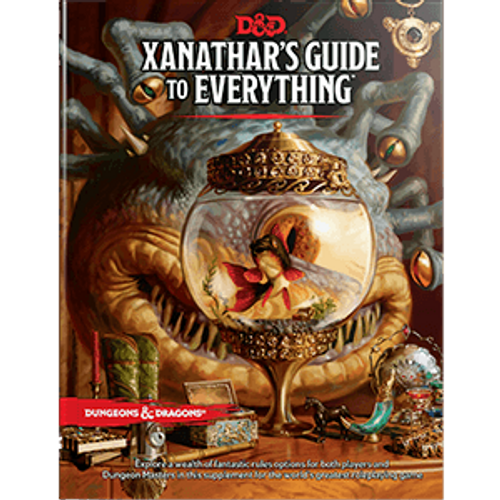 Wizards of the Coast: Dungeons & Dragons - Hardcover - 5E Xanathar's Guide to Everything