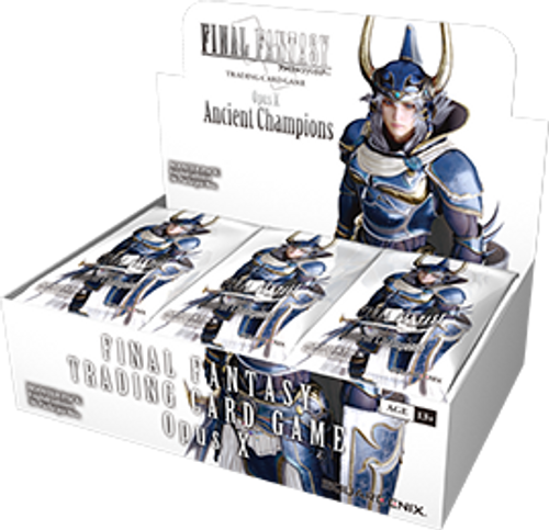 Square Enix: Final Fantasy Trading Card Game - Booster Box - Opus 10 - Ancient Champions