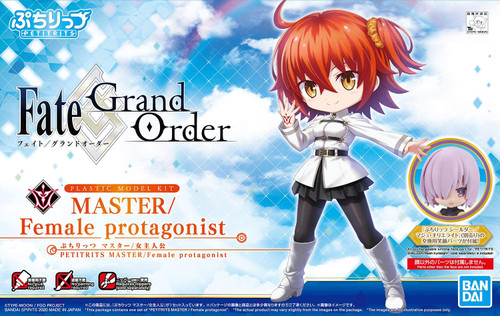 Fate Grand Order: Petitrits Model Kit - Master Female Protagonist (Gudako/Ritsuka Fujimaru)