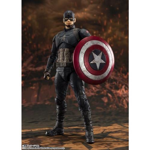 Avengers End Game: S.H.Figuarts - Captain America Final Battle Edition