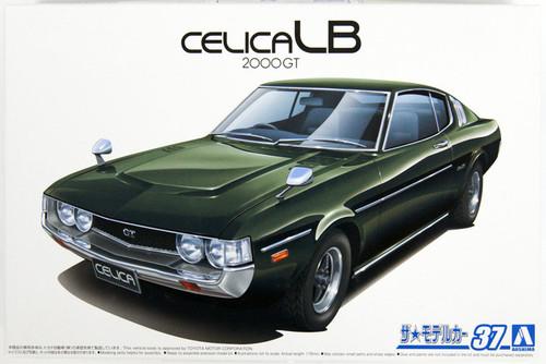 Aoshima The Model Car: 1/24 Scale Plastic Model Kit - 1977 Toyota RA35 CelicaLB 2000GT