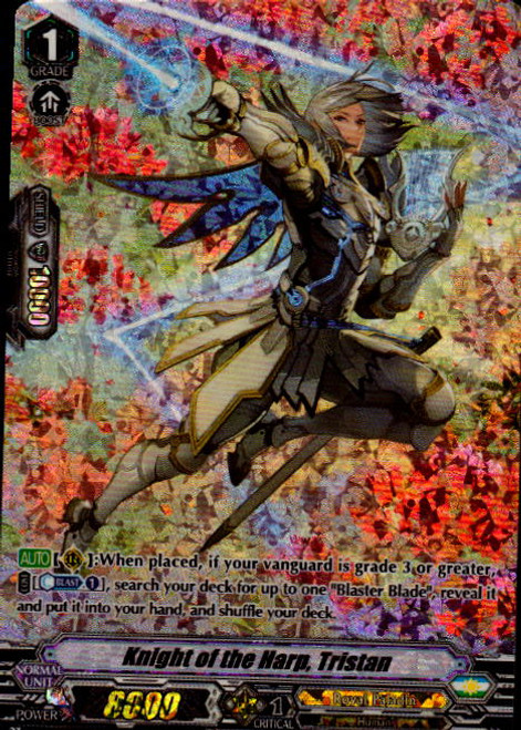 Cardfight! Vanguard: Single Card - Knight of the Harp Tristan (SP)