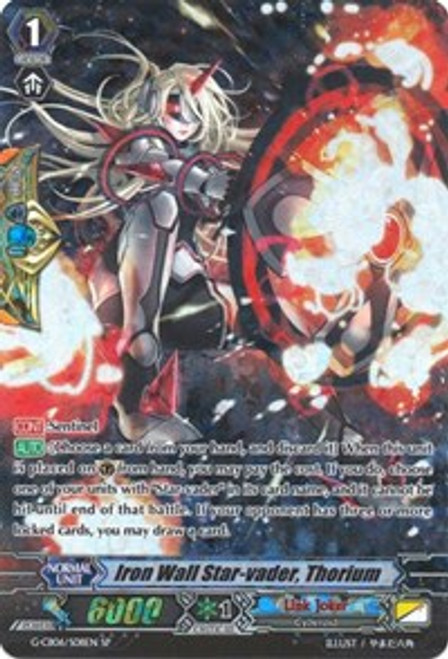 Cardfight! Vanguard: Single Card - Iron Wall Star-Vader, Thorium (SP)