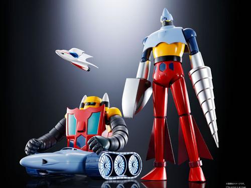 Getter Robo: Soul of Chogokin Action Figure - GX-91 Getter 2 & Getter 3