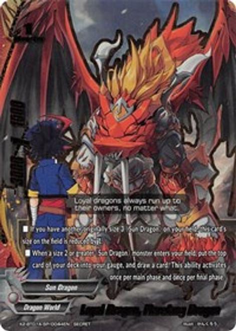 Future Card Buddyfight: Single Card - Loyal Dragon, Flarefang Dragon
