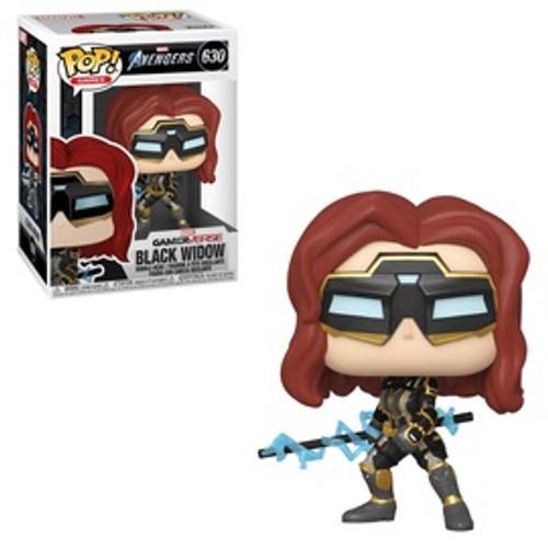 Avengers Game: Pop Funko - Black Widow (Stark Tech Suit)