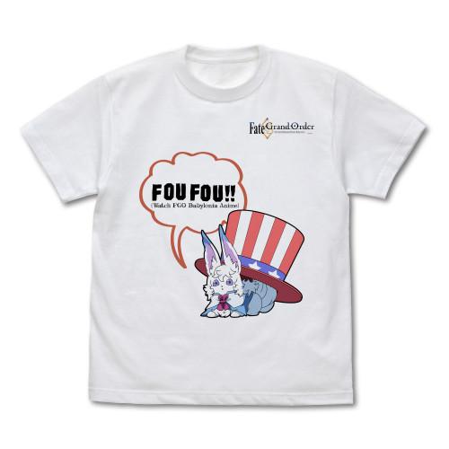 Fate/Grand Order: T-shirt - Fou (Large)